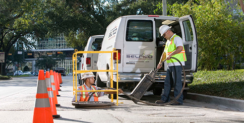 Underground Fiber Construction Houston